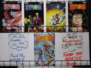 SYPHONS (1986 N) 1-5 First series