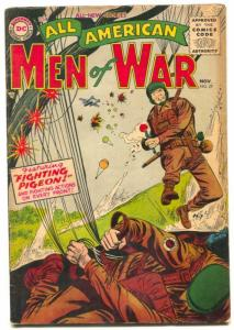 All-American Men Of War #27 1955- parachute cover G