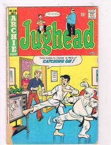 Jughead # 230 GD Archie Series Comic Book Betty Veronica Sabrina Dog Cover DE4