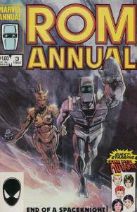 Rom Annual #3 FN; Marvel | save on shipping - details inside