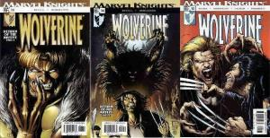 WOLVERINE (2003) 13-15  Return of the Native Complet