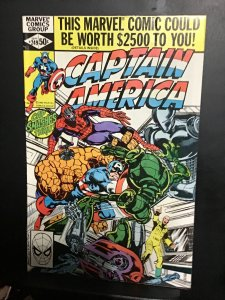 Captain America #249 (1980)  High-grade Spider-Man and then cover key! VF/NM