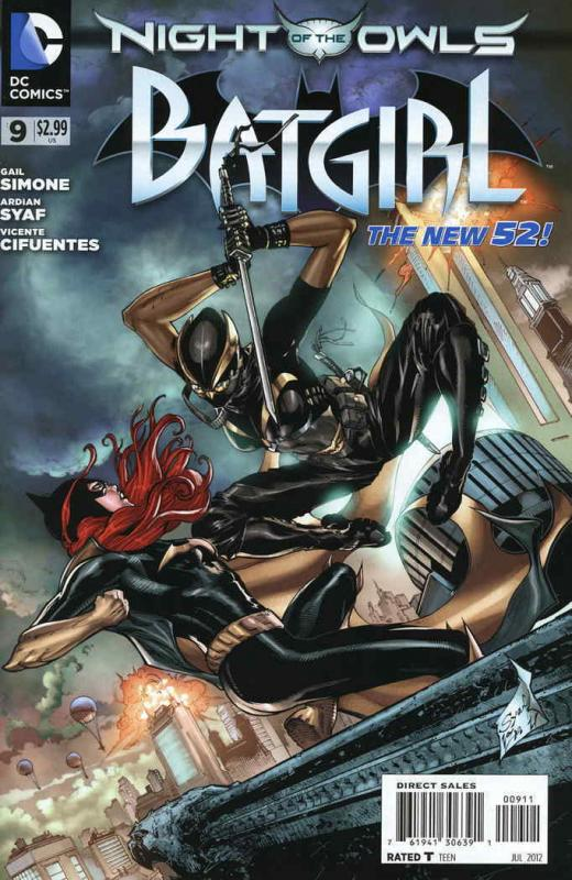 Batgirl (4th Series) #9 VF/NM; DC | save on shipping - details inside