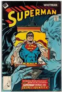 SUPERMAN 326 VG WHITMAN  Aug. 1978