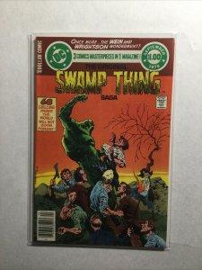 Swamp Thing Saga Summer 1979 Very Fine Vf 8.0 Dc Comics