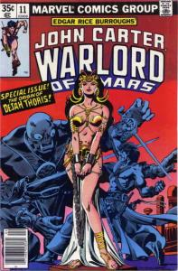 John Carter, Warlord of Mars #11 FN; Marvel | save on shipping - details inside
