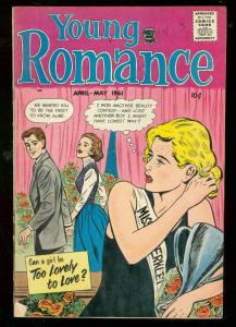YOUNG ROMANCE MAY 1961-WILD LOVE COMICS-BEAUTY CONTEST FN