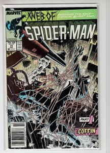 WEB OF SPIDER-MAN (1985 MARVEL) #31 VF+ A21670