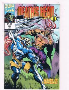 Deaths Head 2 # 6 VF/NM Marvel Comic Books Die Cut Wild Thing Major Mayhem! SW11