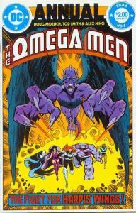 Omega Men (1982 series) Annual #1, NM (Stock photo)