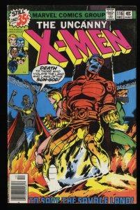 X-Men #116 VG- 3.5 Marvel Comics