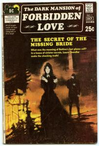 Dark Mansion of Forbidden Love 1 Oct 1971 VG+ (4.5)