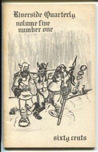Riverside Quarterly Vol.5 #1 1971-William Blackbeard-Jim Harmon-FN
