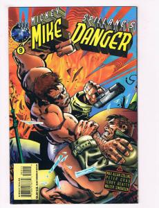 Mike Danger #9 NM Tekno Comix Comic Book Mickey Spillane Collins DE28