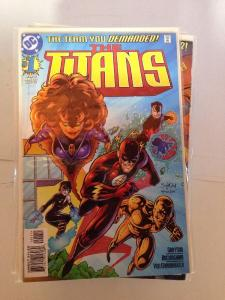 The Titans 1-45 Missing 46-50 Near Mint Lot Set Run
