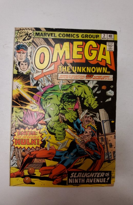 Omega the Unknown #2 (1976) NM Marvel Comic Book J667