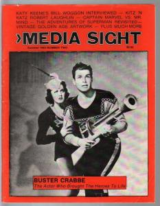 Media Sight #2 1983-Buster Crabbe-Flash Gordon-Basil Wolverton-Superman-VF