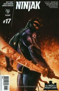Ninjak (3rd Series) #17A VF; Valiant | save on shipping - details inside