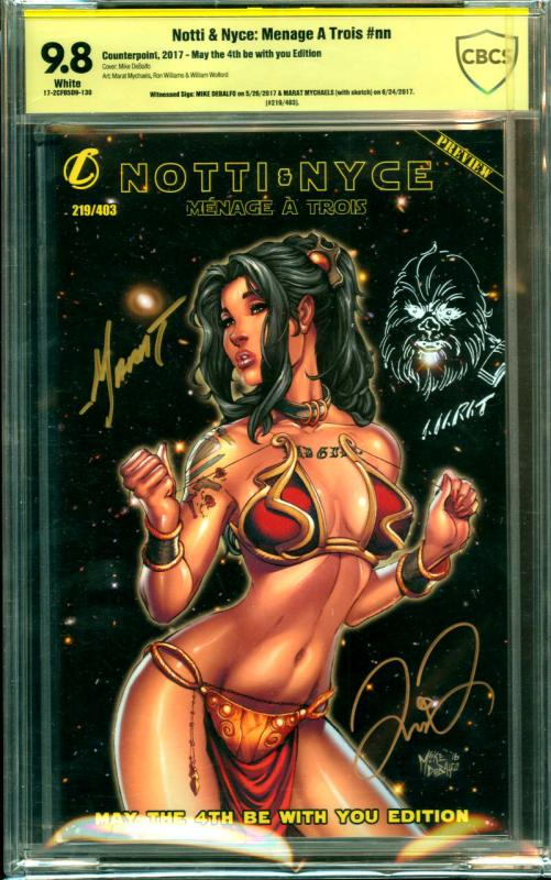 Notti & Nyce: Menage A Trois #nn May The Fourth Be With You Addition - Signed