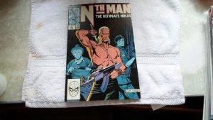 1989 MARVEL COMICS NTH MAN THE ULTIMATE NINJA # 2