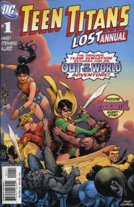 Teen Titans Lost Annual #1 VF/NM; DC | save on shipping - details inside