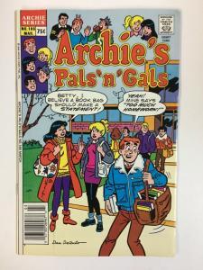 ARCHIES PALS & GALS (1952-    )186 VF-NM  Mar 1987 COMICS BOOK