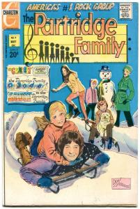 PARTRIDGE FAMILY #9 1972-CHARLTON TV COMIC VF