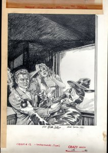 Crazy Magazine #12 Page 4 Original Art- MARIE SEVERIN- STUPID STORIES cover 1975