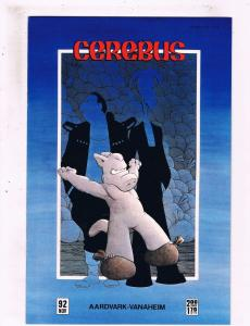 Lot Of 5 Cerebus Aardvark Vanaheim Comic Books # 92 93 94 95 96 Dave Sim Art BN8