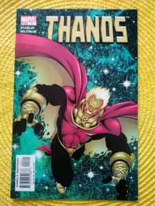 Thanos #2 (2004) Marvel - Warlock app Jim Starlin story, cover and art (Endgame)
