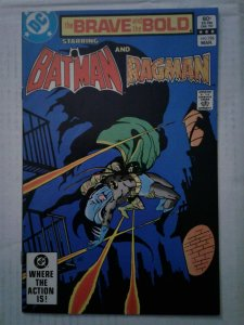Brave and the Bold #196 VF BATMAN