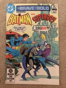 DC The Brave And The Bold 192 Starring Batman And Superboy