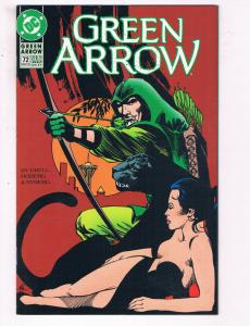 Green Arrow #72 VF DC Comics Arrow TV Show Comic Book Grell 1993 DE21