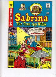 Sabrina the Teen-Age Witch #39 (Jan-77) VF/NM High-Grade Sabrina the Teenage ...