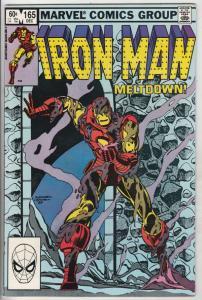 Iron Man #165 (Nov-82) NM- High-Grade Iron Man