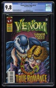 Venom: Sinner Takes All #5 CGC NM/M 9.8 White Pages