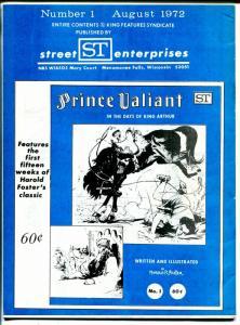 Jungle Jim #1 1972-Secret Enterprises-1st issue-Alex Raymond-FN