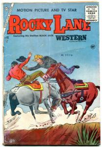 ROCKY LANE WESTERN #69-1955-CHARLTON-BLACK JACK-good