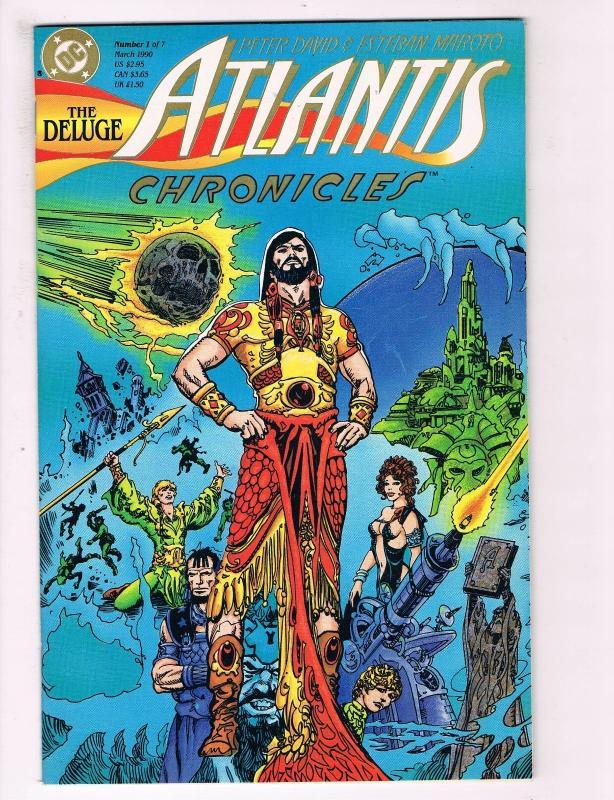 The Atlantis Chronicles # 1 NM DC Comic Books Batman Superman Aquaman S92