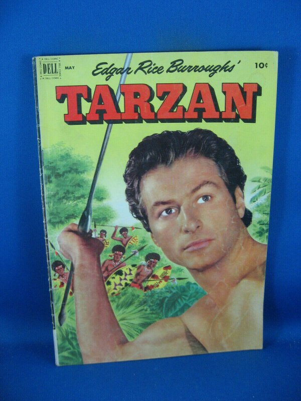 TARZAN 32 VG 1952 DELL