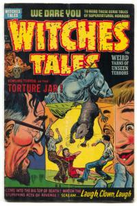 Witches Tales #13 1952- RAT TORTURE COVER- Golden Age Horror