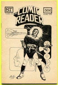 The Comic Reader Fanzine #123 Street Enterprises 1975 Howard Chaykin Cover