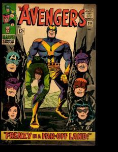 Avengers # 30 FN/VF Marvel Comic Book Hulk Thor Iron Man Captain America NE3