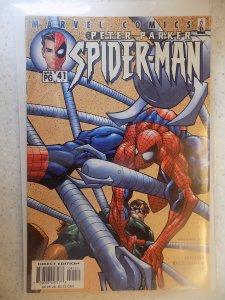 PETER PARKER SPIDER-MAN # 41