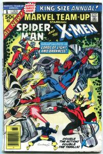 Marvel Team-Up Annual #1 1976- Cockrum cover- Early New X-Men