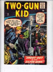 Two-Gun Kid #50 (Oct-59) FN+ Mid-Grade Two-Gun Kid