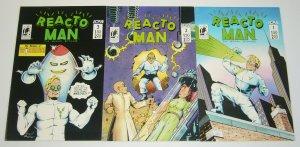 Reacto Man the Human Dynamo #1-3 VF/NM complete series - B-movie comics set 2