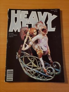 Heavy Metal Vol. 2 #9 ~ VERY GOOD VG ~ January 1979 illustrated Magazine