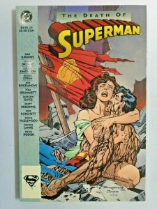 Superman The Death of Superman #1 1st Print 9.0 NM (1993)
