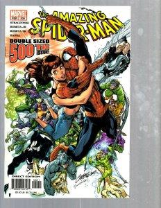 Amazing Spider-Man # 500 NM Marvel Comic Book MJ Vulture Hob-Goblin VENOM TJ1